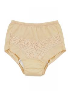 Lace Design high cut briefs for Elderly urinary incontinence female
